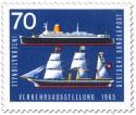 Stamp: Segelschiff Hammonia Passagierschiff Bremen