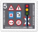 Stamp: Verkehrsschilder Ampel