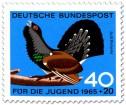 Stamp: Vogel: Auerhahn (Tetrao Urogallus)
