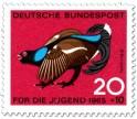 Stamp: Vogel: Birkhahn (Lyrurus Tetrix)