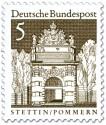 Stamp: Berliner Tor, Stettin (Pommern)