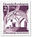 Stamp: Bürgerhalle im Rathaus zu Löwenberg (Schlesien)