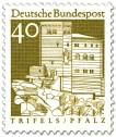 Stamp: Burg Triefels (Pfalz)