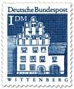 Stamp: Melanchthonhaus, Wittenberg