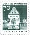 Stamp: Osthofentor Soest (Westfalen)