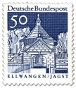 Stamp: Schloss Ellwangen / Jagst