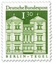Stamp: Schloss Tegel in Berlin