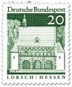 Stamp: Torhalle Lorsch (Hessen)