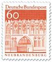 Stamp: Treptower Tor in Neubrandenburg