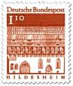 Stamp: Trinitatishospital in Hildesheim