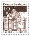 Stamp: Wallpavillon Zwinger, Dresden (Sachsen)