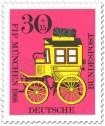 Stamp: Bayerische Postkutsche (Kongress Philatelistenverband)