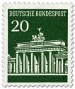Stamp: Brandenburger Tor 20 (Grün)