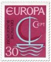 Stamp: Europamarke 1966 (Segelschiff) 30