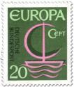 Stamp: Europamarke 1966 (Segelschiff)