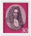 Stamp: Gottfried Wilhelm Leibnitz Philosoph Wissenschaftler