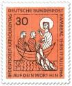Stamp: Jesus mit Fischern im Boot (Katholikentag Bamberg)