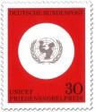 Stamp: Logo von Unicef (Friedensnobelpreis)