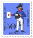 Stamp: Preußischer Briefträger (Kongress Philatelistenverband)