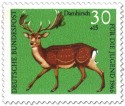 Stamp: Damhirsch (dama dama)