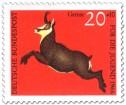 Stamp: Gemse (rupicapra rupicapra)