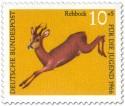 Stamp: Rehbock (capreolus capreolus)