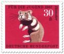 Stamp: Hamster (Feldhamster)