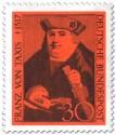 Stamp: Franz Von Taxis Begruender Postwesen