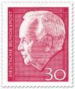 Stamp: Heinrich Lübke (Bundespräsident, 30)
