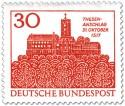 Stamp: Wartburg Eisenach (Zuflucht Luthers)
