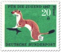 Stamp: Wiesel (Hermelin)