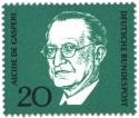 Stamp: Alcide de Gaspari (Italienischer Politiker)