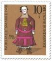 Stamp: Puppe um 1878
