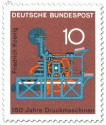 Stamp: 150 Jahre Druckmaschinen - Friedrich König