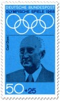 Stamp: Carl Diem (Sport-Organisator)