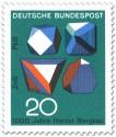 Stamp: Erzmineralien in Kristallform (Harzer Bergbau)