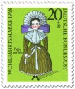 Stamp: Puppe um 1850