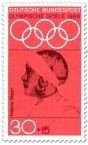 Stamp: Helene Mayer (Fechterin)