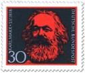 Stamp: Karl Marx (150. Geburtstag)