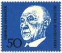 Stamp: Konrad Adenauer (Deutscher Bundeskanzler)