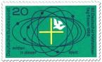 Stamp: Mitten in dieser Welt (Taube, Kreuz) - Katholikentag Essen
