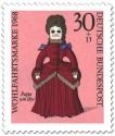 Stamp: Puppe um 1870