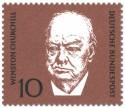 Stamp: Winston Churchill (britischer Politiker)