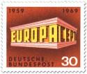 Stamp: Europamarke 1969 Tempel 30