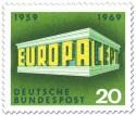 Stamp: Europamarke 1969 (Tempel)