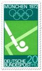 Stamp: Feldhockey / Schläger und Kugel (München 1972)