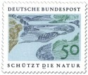 Stamp: Flusslandschaft / Auen
