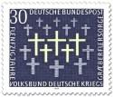 Stamp: Grabkreuze (Volksbund Kriegsgräberfürsorge)