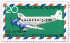 Stamp: Junkers Ju 52 Luftpost