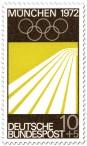 Stamp: Laufbahn / Leichtatletik (München 1972)